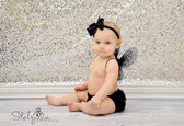 Diaper Cover Black