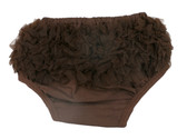 Chocolate Brown Diaper Cover