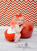 Diaper Cover Red