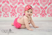 Diaper Cover Hot Pink