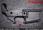 NFA Engraving Right Side Below Safety Selector
