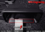 NFA Engraving Flange Text AR-15 / AR-10 Style Lower Receiver Services