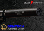 Gemtech G-CORE GM-22 .22LR, .22 WMR, .17 HMR, Suppressor 1/2x28 TPI