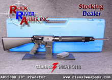 "23499600 Rock River Arms AR1530 20"" Predator Pursuit Rifle with 3.5 lbs. Chrome Trigger"