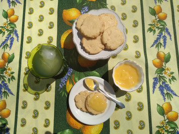 Miss Amy's Lemon White Chocolate Chip Butter Cookies