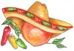 Hot & Mean Jalapeno Peach ~ 16 oz