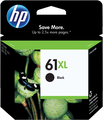 HP 61XL OEM High Yield Black Ink Cartridge (CH563WN / 61 XL)