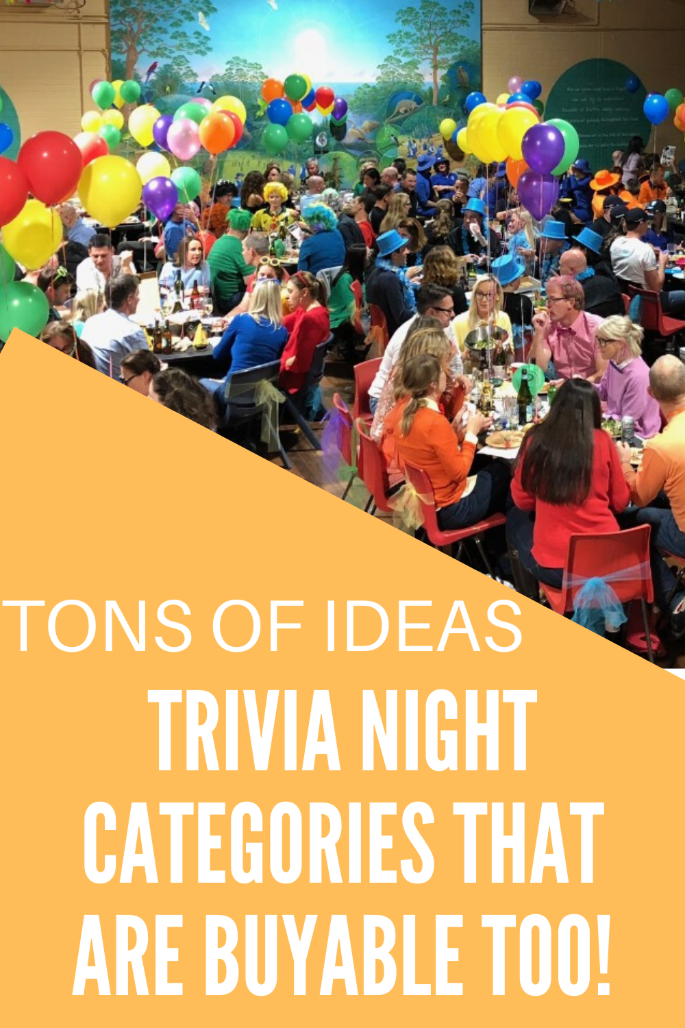 Fun categories for trivia night