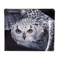 Owl in Flight - Mens Wallet