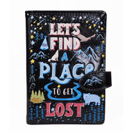Let's Find A Place To Get Lost - Passport Wallet