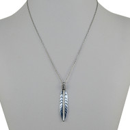 Lucky Feather - Inspirational Necklace