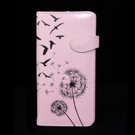 Dandelion Blowing in the Wind - Large Zipper Wallet