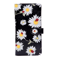 Daisies and Ladybugs - Large Zipper Wallet