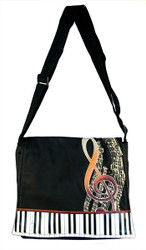 Artistic Piano Crossbody Purse