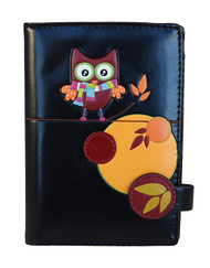 Quirky Fall Owls - Passport Wallet