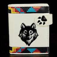 Spirit Wolf - Small Zipper Wallet