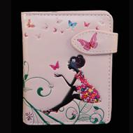 Butterfly Oasis - Small Zipper Wallet