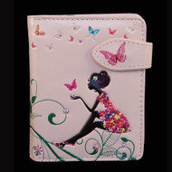 Butterfly Oasis - Small Zipper Wallet