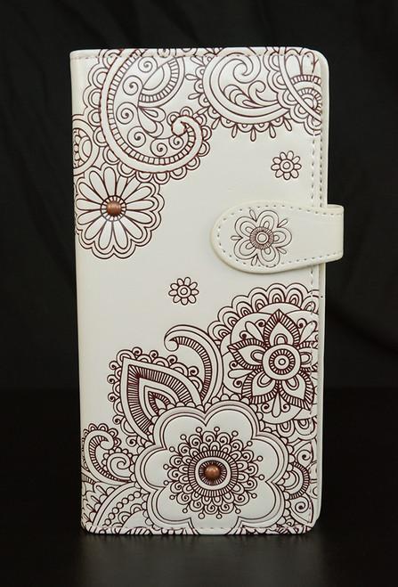 Henna - Large Zipper Wallet