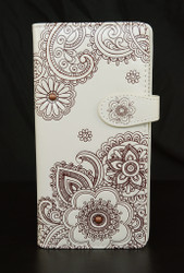 Henna - Large Zipper Wallet