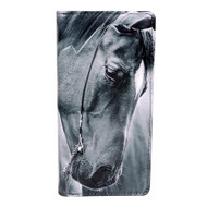 Portrait of a Horse - Large Zipper Wallet