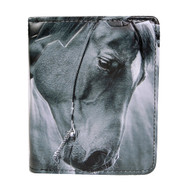 Portrait of a Horse - Small Zipper Wallet