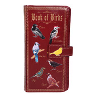 Book of Birds - Large Zipper Wallet