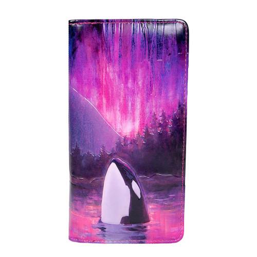 Aurora Orca - Large Zipper Wallet