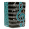 Musical Treble Clef - Large Zipper Wallet