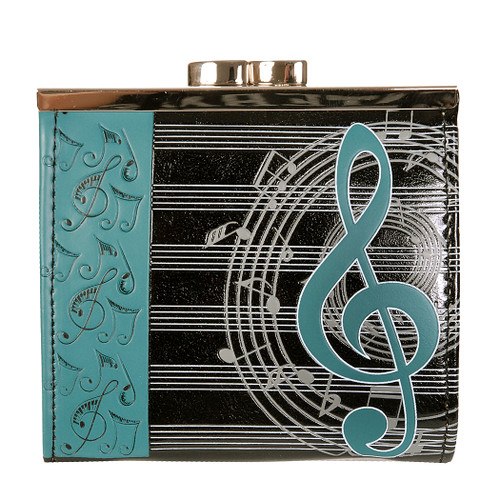 Musical Treble Clef - Coin Purse