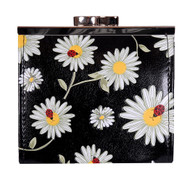 Daisies and Ladybugs - Coin Purse