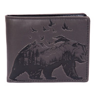 Mountain Bear  - Mens Wallet