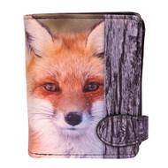 Red Fox - Small Zipper Wallet