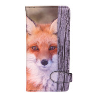 Red Fox - Large Zipper Wallet