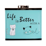 Life Is Better With A Cat - Coin Purse