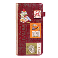 Literature - Large Zipper Wallet