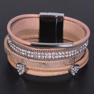 Light Brown - Wrap Bracelet