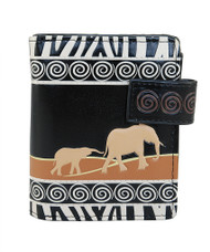Elephant Safari - Small Zipper Wallet