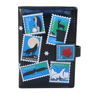 Canadian Stamps - Passport Wallet