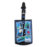 Canadian Stamps Luggage Tag
