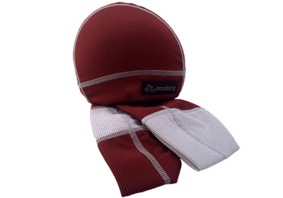 Ultra absorbent SweatHawg Skullcap - Burgundy