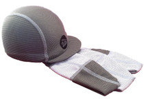 Ultra absorbent Cycling Caps in Stormy Greys and Whites