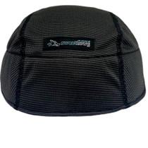 SweatHawg Helmet Liner in Charcoal.  Lightweight bamboo anti-microbial fabric wicks sweat away.