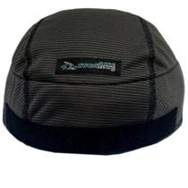 SweatHawg Helmet Liner - hook and loop in charcoal