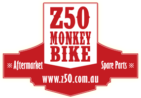 Monkey Z50 Australia aftermarket parts