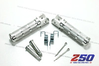 CNC Alloy Footpegs Set (Small Bar)