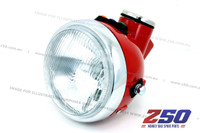 Headlight & Speedometer Assy (Red, 3 Indicators)