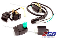 Ignition Electrical Kit (CDI, Regulator, Starter Relay, Ignition Coil)