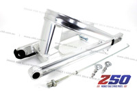 ALLOY SWING ARM (+16CM, TRIANGLE SWING ARM, W/ BRAKE ROD, 2X CHAIN TENSIONER)