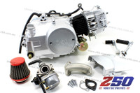Lifan 50cc Engine (4-Speed Semi-Auto) (w/ Air Carby Kit) + Ignition Coil, CDI, Regulator & Relay